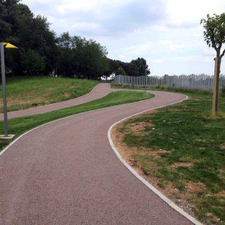 Orgnano, Borgo Cjastelut - triple layer cycle path - Slurry Srl