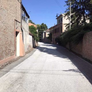 The municipality of Ferrara - triple layer road resurfacing - Slurry Srl