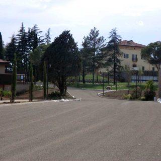 Imola, Palazzo Varignana - triple layer green paving - Slurry Srl