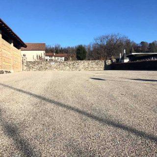 Fagagna, Cjase Cocel Car Park - Triple dust suppression - Slurry Srl