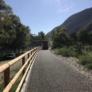 Pavimentazione pista ciclabile - Campolongo sul Brenta