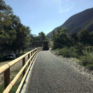 Campolongo sul Brenta - cycle path paving - Slurry Srl