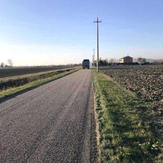 Caorle - the eco-friendly restoration of triple layer unpaved roads - Slurry Srl