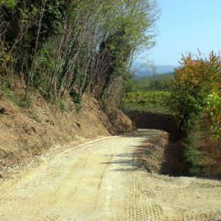 Construction of unpaved roads - Slurry Srl