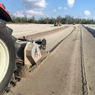 Construction of stabilising roads - Slurry Srl