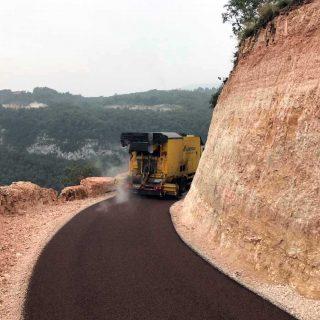 Verona - road paving dust suppression - Slurry Srl
