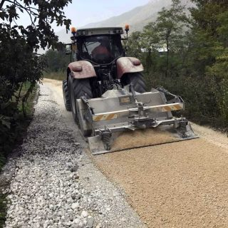 Environmental road restoration milling - Slurry Srl