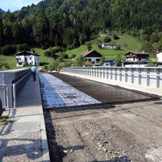 Geotextile bitumen emulsion bridge membrane - Slurry Srl