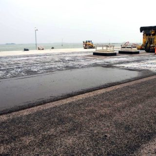 MOSE, Venice - continuous reinforced waterproofing - Slurry Srl