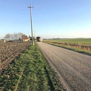 Caorle - triple layer unpaved road restoration - Slurry Srl