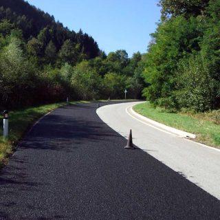 Resurfacing provincial road surfaces via slurry microsurfacing - Slurry Srl