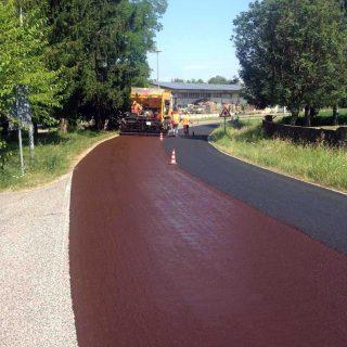 Slurry sealing for road safety - Majano, Udine - Slurry Srl