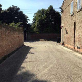 The municipality of Ferrara - triple layer road paving - Slurry Srl
