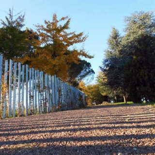 Borgo Cjastelut, Orgnano, FVG - triple layer cycle path paving - Slurry Srl