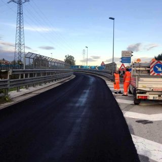 Roads in Veneto - slurry seal for road safety - Slurry Srl