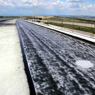 CRW bitumen membranes for a viaduct - Slurry Srl
